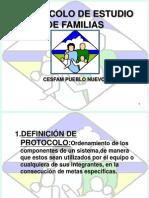 Protocolo Estudio de Familia2012