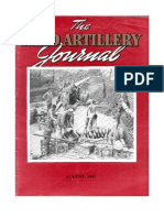Field Artillery Journal - Aug 1945