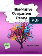 Collaborative Comparison Poems