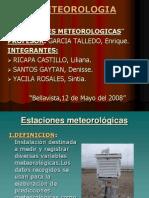 ESTACIONES METEOROGICAS(EXPOSICION)