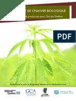 Guide - LA GRAINE DE CHANVRE BIOLOGIQUE- _Un guide de production pour l'Est-du-Québec_