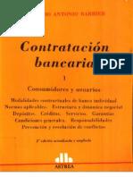Contratación Bancaria T I - Barbier