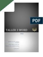 Taller 3 Solucion