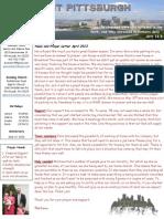 Prayer Letter April 2013