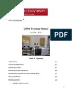 QTOF Manual