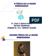 EXAMEN FÍSICO-EMBARAZO