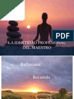 La Identidad Profesional Del Maestro