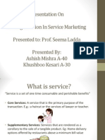 Pricing Decision in Service Marketing