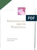 Geologia Del Oro en Venezuela