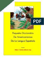 116653901 Pequeno Diccionario de Americanismos de La Lengua Espanola