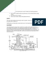 Cooling Tower Lab Sheet