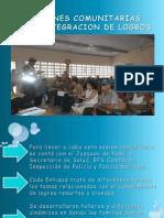 Participacion y Organizacion Comunitaria
