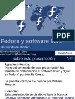 Fedora y Software Libre
