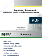 Brazil's Regulatory Framework - Challenges of a Rapidly Expanding Petroleum Industry