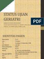 Status Ujian Geriatri-sahara Effendy