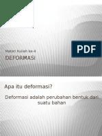 Materi 4 Metalurgi Fisik DEFORMASI
