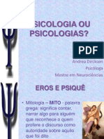 Aula 2 - Psicologia Ou Psicologias