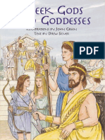 Dover Greek Gods &Amp; Goddesses Coloring Book