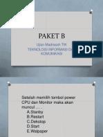 PAKET B