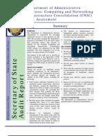 Cnic Audit 2006