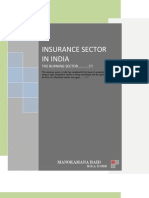 Manokamana Baid - Insurance Sector in India(1)