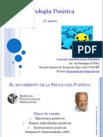 2° Teoría Psicología Positiva (2012)