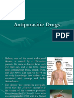 Antiparasitic Drugs 2012