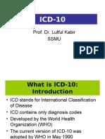 Power Point Presentation OnICD 10 by Prof. Lutful Kabir