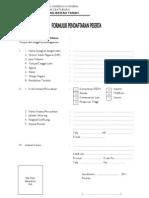 Form Registrasi Peserta