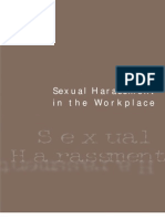 Workplace Sexual Harrasment