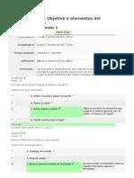 Autoevaluación 3 Objetivo y elementos del Balance general