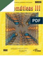 Cuadernillo Matematicas III