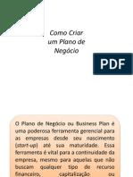 Aula Plano de Negócios