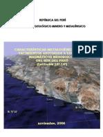 A6461 Informe Técnico POI GR1 2006 Metalogenia Arcos Yacimientos Lat 16º-14º  Acosta