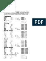 Excel Steam Tables v01
