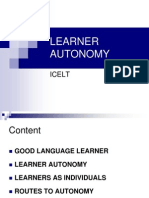Icelt Learner Autonomy First Session