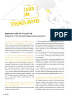 Post Card from Thailand - FEI Focus March 2013