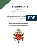 Christum Credunt French April 7th