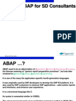 ABAP for SD Consultatnt