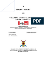 Training and Development Methods Used in Vodafone and Bsnl