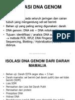 Isolasi Dna Genom