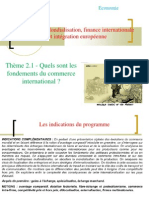 Thème 1 - Fondements du commerce international.ppt [Enregistrement automatique]