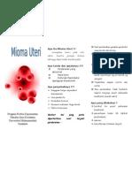 Leaflet Mioma Uteri