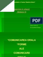 comunicarea orala