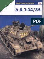 Osprey - Modelling Manuals 016 - T-34-76 & T-34-85