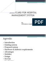 Smart Card for Hospital Management System