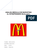 Analiza Mediului de Marketing Al Intreprinderii Mcdonalds.[Conspecte.md]