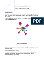 Brand analysis surf