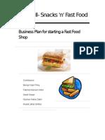 Eat Well Business Plan