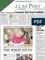 The Dallas Post 04-07-2013
